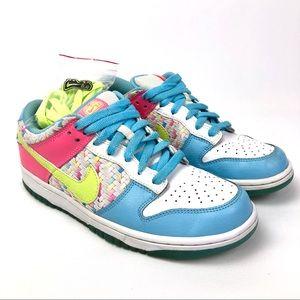 Nike 6.0 Dunk Low Top SB Womens 9 Ice Cream Pastel